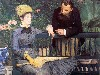 Papel de Parede Gratuito de Artes : Manet - In the Conservatory (Study of M. and Mme Jules Guillemet)