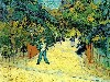 Papel de Parede Gratuito de Artes : Van Gogh - Entrance to the Public Garden in Arles